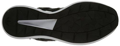 adidas Originals Herren SL Rise Fashion Sneaker Schwarz / Schwarz / Eisgrün F16