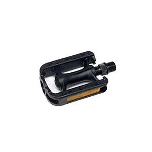 """XLC Junior Resin Pedals - 1 Pair, 1/2"""", Black"""
