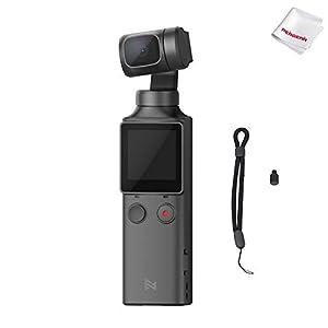 314PGDcWEVL. SS300 FIMI Palm Stabilizzatore cardanico a 3 assi tascabile con fotocamera intelligente 4K, obiettivo ultra grandangolare 128 °, 120g, microfono incorporato e microfono esterno supportati
