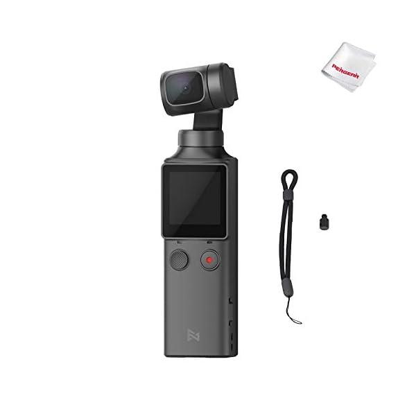 FIMI Palm Stabilizzatore cardanico a 3 assi tascabile con fotocamera intelligente 4K, obiettivo ultra grandangolare 128 °, 120g, microfono incorporato e microfono esterno supportati 1 spesavip