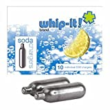 Whip-It co2 cartridges for Soda Siphons (10 pack)