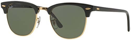 ray-ban-clubmaster-ebony-arista-frame-crystal-green-lenses-49mm-non-polarized