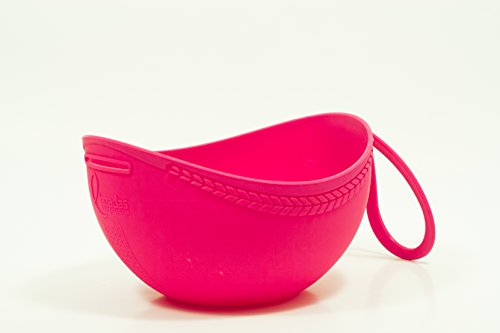 Lazadas Knitting Project Caddy Yarn Bowl Project Bag (Hot Pink) by Lazadas