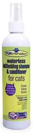 ss deShedding Shampoo and Conditioner for Cats ()