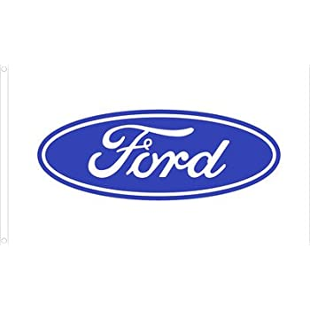 3ftx5ft ford motor company dealer logo flag for Ford motor company credit card