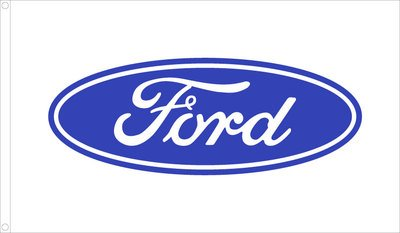 amazon com 3ftx5ft ford motor company dealer logo flag banner rh amazon com ford transit logo font ford logo font download