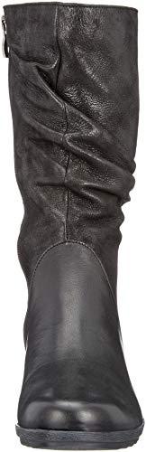 Blk Pearl Caprice Noir Comb 25 25407 Femme Botines HxIqpfZ
