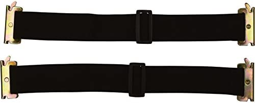 for E-Track and X-Track 2in CargoSmart Cambuckle Straps Capacity x 12ft 2000-Lb 2-Pack
