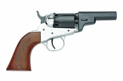 Denix 1849 Pocket Pistol, Nickel - Non-Firing Replica