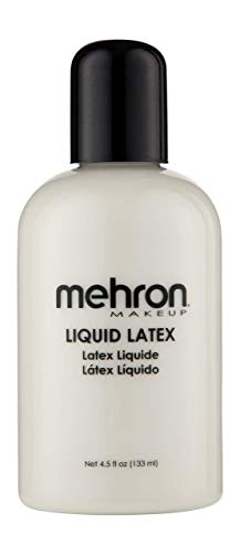 Mehron Makeup Liquid Latex (4.5 oz) (Clear Flesh)