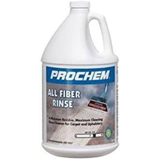 Prochem - All Fiber Rinse - Carpet and Upholstery Cleaning Extraction Rinse - Concentrate - 1 Gallon - B109