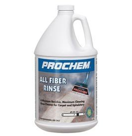 Prochem - All Fiber Rinse - Carpet and Upholstery Cleaning Extraction Rinse - Concentrate - 1 Gallon - B109 by Karcher
