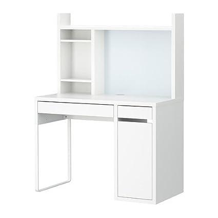 Micke, ordenador estación de trabajo, color blanco: Amazon.es ...