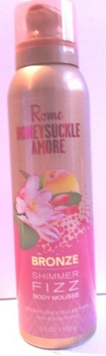 Rome Honeysuckle Amore Bronze Shimmer Fizz Body Mousse 3.5 Oz by Bath & Body Works