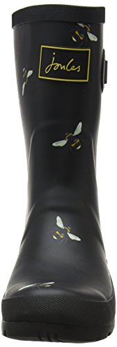 Blkbotb de Bottes French Black Beau Bloom Tom Pluie Marine Mollywelly Botanical Joule Schwarz Femme Bee 6StZwgpq