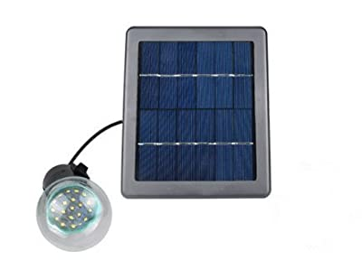 COCO120LM Switch Control Solar Powered LED Night Light Kit,White Floodlights Spotlights Lamp with 1 Ultra Bright LED Waterproof Dusk to Dawn 8 Hours for Garden Patio Deck Yard Tree Path Pool,Driveway