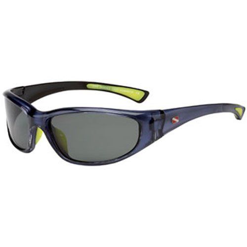100% Ultra Violet Polarized Dive Shades, Dominica style - Blue Mirage