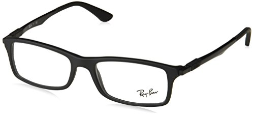 Ray-Ban Glasses 7017 5196 Black 7017 Rectangle Sunglasses