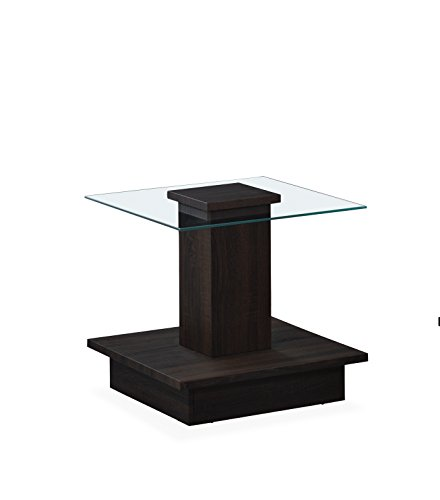 Global Furniture End Table 3D Coffee, Wenge