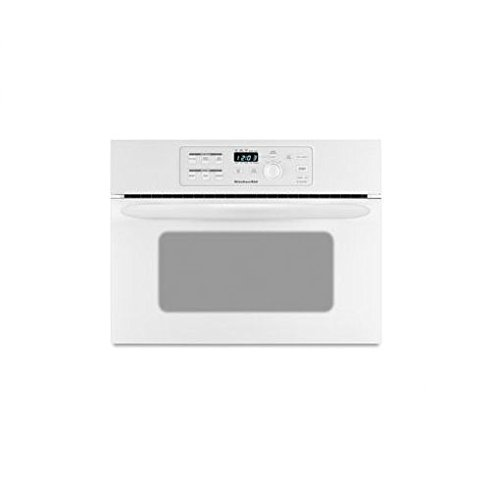 24 built in microwave oven white kitchenaid kbms1454rwh for Built in microwave ovens 30 inch
