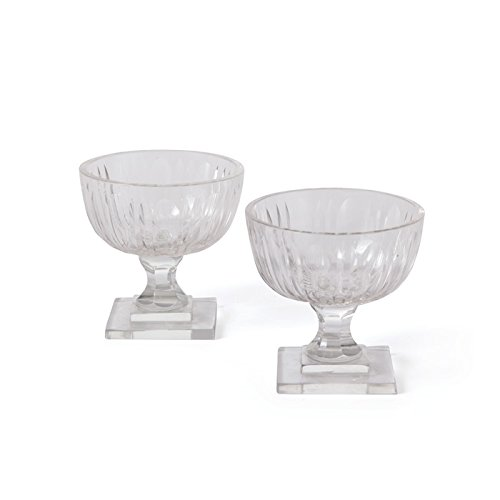 Go Home 20342 Pair of Styles Cups Candle Holder44; 3.5 in.