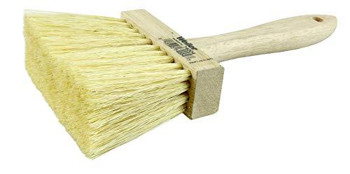 "Weiler 74004 4"" Masonry Brush, 3"" Trim Length, White Tampico Fill (Pack of 12)"