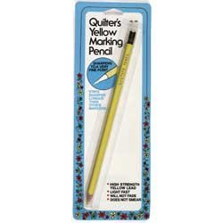Quilter's Yellow Marking Pencil Collins ()