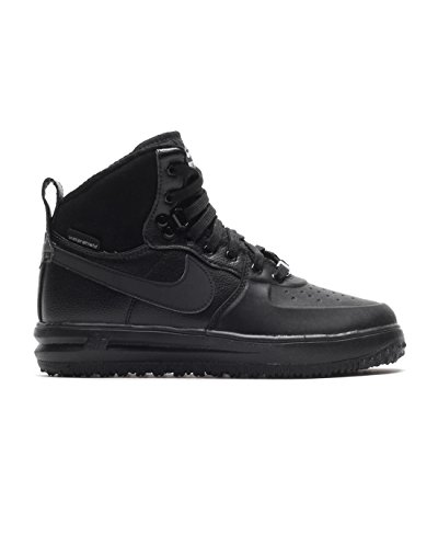 Nike Air Lunar Force 1 Sneakerboot GS Watershield Winter Sneaker Black, EU Shoe Size:EUR 36.5 ()