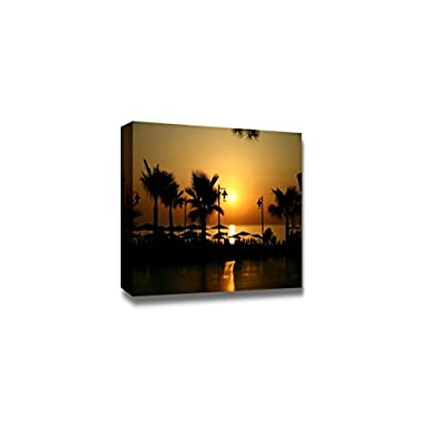 That's 100% USA Made, Amazing Expert Craftsmanship, Beautiful Scenery Landscape Sunrise at The Seashore Wall Decor