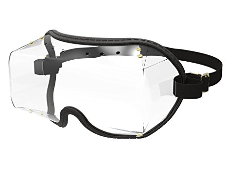 bb396c68084 Kroops VFR Skydiving Sports Fit-Over Black Goggle Clear Lens