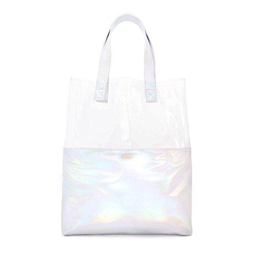 ban.do Holographic Peekaboo Tote Bag