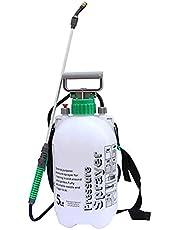 بخاخة تعمل بالضغط محمولة متعددة الاغراض لري النباتات وغسيل السيارة ورش المواد الكيميائية والمبيدات الحشرية للاعشاب من المينيز - سعة 2 لتر