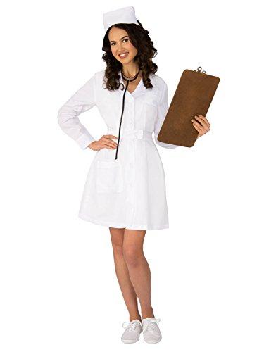 Ladies Nurse Costume (Rubie's Womens Retro Nurse)