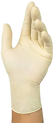 Microflex Diamond Grip MF-300 Latex Gloves - Disposable, Exam Grade, Size Extra Large (pack of 100)