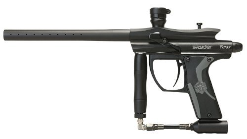 Spyder Fenix Electronic Paintball Marker (Black) ()