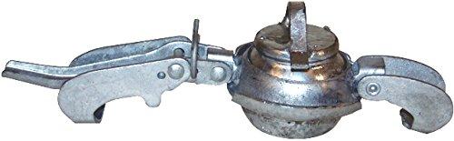 JGB Enterprises 026-1280-EP80 Galvanized Bauer Type Coupling Male Plug, Galvanized Steel, 8''
