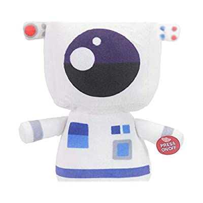 RDC Animated Over The Moon UFO Plush Lights Up Sound (Astronaut): Toys & Games