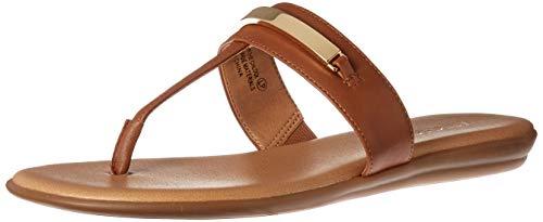 Aerosoles - Women's On The Chlock Flip-Flop - Casual Open Toed Sandal with Memory Foam Footbed (5M - - Beige Tan Thong
