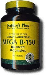 Nature's Plus - Mega B-150 Sustained Release - 90 Tablets (3-Pack) by Nature's Plus