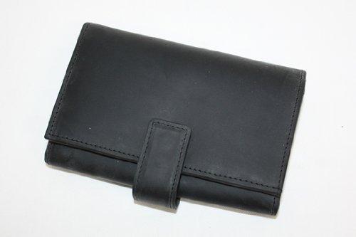 SETTLER (セトラー) OW9696 ZIP COIN PURSE WITH TAB B009A2RW1O BLACK BLACK -