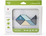 6 Piece Tegu Travel Pal Magnetic Wooden Block Set