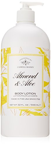 Caswell-Massey Almond and Aloe Titanic Body Lotion - Signature Fragrance - Made in the USA - 32 Ounces