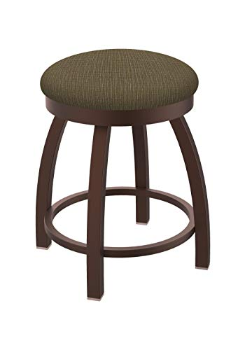 Holland Bar Stool Co. Misha Swivel Vanity Stool, 18 Seat Height, Graph Cork
