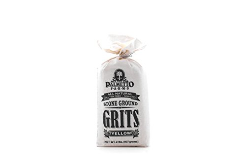 Palmetto Farms, Grits Stone Ground Yellow, 32 Ounce