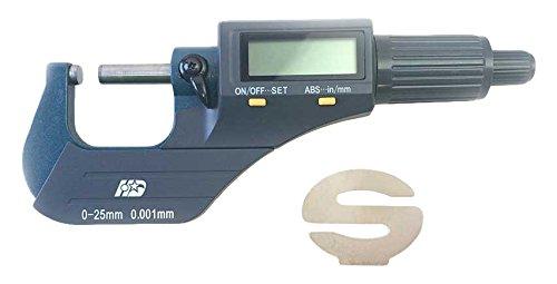 Big Horn 19204 Digital Electronic Outside Micrometer