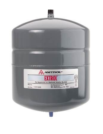 Image of Amtrol 60 Extrol Boiler System Expansion Tank, 7.4 gal Volume, 11' Diameter, 23' Height Water Heater Parts