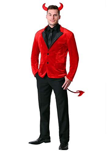 Men's Dashing Devil Costume X-Large Red]()