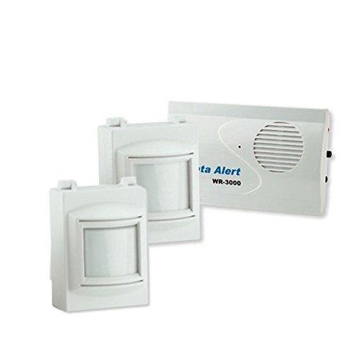 Indoor/Outdoor Infrared Motion Detector 2 Sensor Alarm Kit