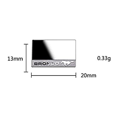 GPM R/C Scale Accessories : Wing Mirrors for TRX-4 Ford Bronco (82046-4) - 2Pc Set: Toys & Games