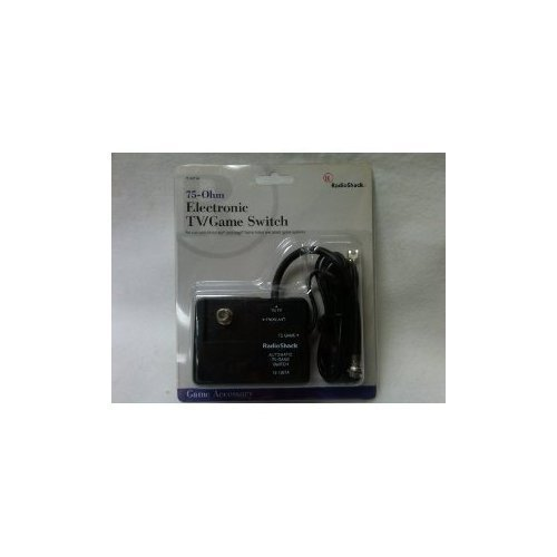 UPC 040293122638, RadioShack Electronic TV/Game Switch for Nintendo